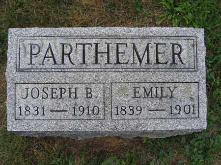 PARTHEMER, JOSEPH B. - Union County, Ohio | JOSEPH B. PARTHEMER - Ohio Gravestone Photos