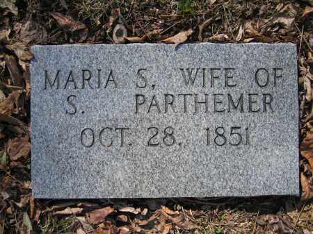 PARTHEMER, MARIA S - Union County, Ohio | MARIA S PARTHEMER - Ohio Gravestone Photos