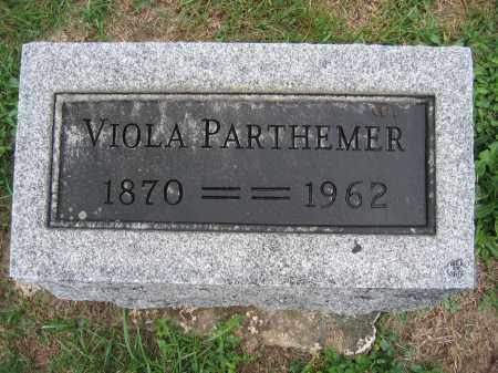 PARTHEMER, VIOLA - Union County, Ohio | VIOLA PARTHEMER - Ohio Gravestone Photos