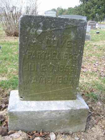 PARTHEMERE, LOVE - Union County, Ohio   LOVE PARTHEMERE - Ohio Gravestone Photos