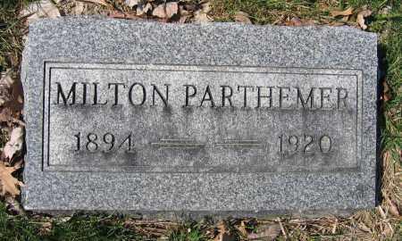 PARTHEMERE, MILTON - Union County, Ohio   MILTON PARTHEMERE - Ohio Gravestone Photos