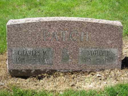 PATCH, CHARLES M. - Union County, Ohio | CHARLES M. PATCH - Ohio Gravestone Photos