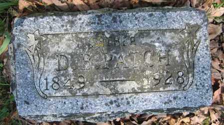 PATCH, D.B. - Union County, Ohio   D.B. PATCH - Ohio Gravestone Photos