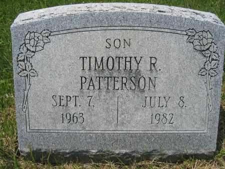 PATTERSON, TIMOTHY R. - Union County, Ohio   TIMOTHY R. PATTERSON - Ohio Gravestone Photos