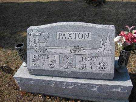 PAXTON, PEGGY J. - Union County, Ohio | PEGGY J. PAXTON - Ohio Gravestone Photos