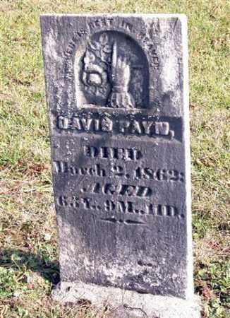 PAYN, DAVID - Union County, Ohio | DAVID PAYN - Ohio Gravestone Photos