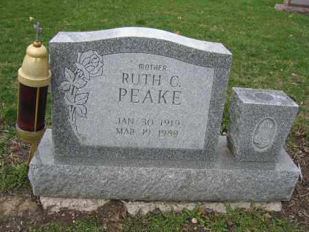 PEAKE, RUTH C. - Union County, Ohio | RUTH C. PEAKE - Ohio Gravestone Photos