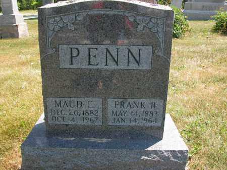 PENN, MAUD E. - Union County, Ohio   MAUD E. PENN - Ohio Gravestone Photos