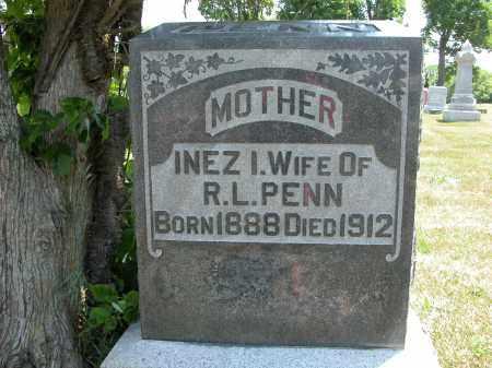 PENN, INEZ I. - Union County, Ohio | INEZ I. PENN - Ohio Gravestone Photos