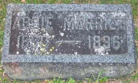 PERFECT, ABBIE MARRIET - Union County, Ohio   ABBIE MARRIET PERFECT - Ohio Gravestone Photos