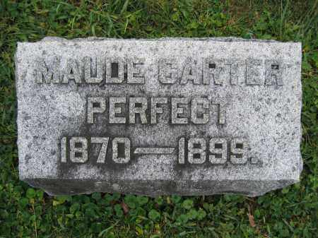 PERFECT, MAUDE CARTER - Union County, Ohio   MAUDE CARTER PERFECT - Ohio Gravestone Photos