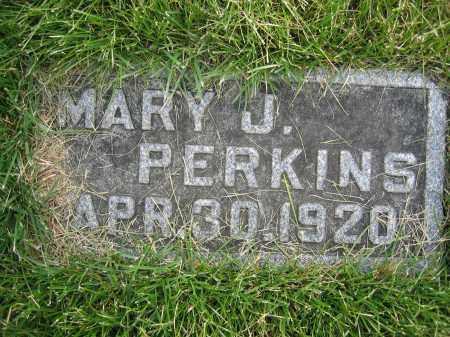 PERKINS, MARY J - Union County, Ohio   MARY J PERKINS - Ohio Gravestone Photos