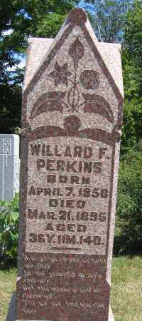 PERKINS, WILLARD F. - Union County, Ohio   WILLARD F. PERKINS - Ohio Gravestone Photos