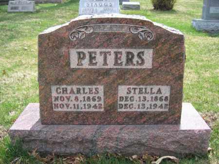PETERS, CHARLES - Union County, Ohio | CHARLES PETERS - Ohio Gravestone Photos