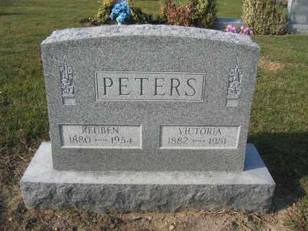 PETERS, REUBEN - Union County, Ohio | REUBEN PETERS - Ohio Gravestone Photos