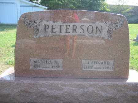 PETERSON, J. EDWARD - Union County, Ohio | J. EDWARD PETERSON - Ohio Gravestone Photos