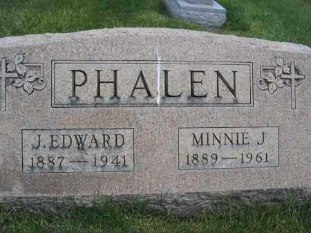 PHALEN, J. EDWARD - Union County, Ohio | J. EDWARD PHALEN - Ohio Gravestone Photos