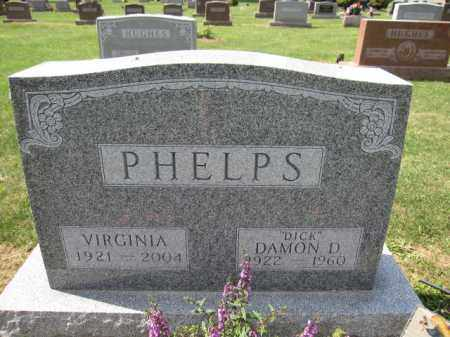 PHELPS, DAMON D. - Union County, Ohio | DAMON D. PHELPS - Ohio Gravestone Photos