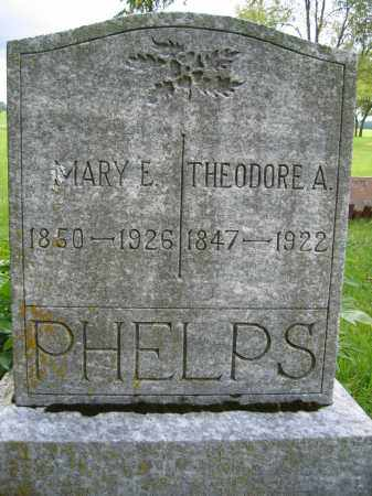 PHELPS, THEODORE A. - Union County, Ohio | THEODORE A. PHELPS - Ohio Gravestone Photos