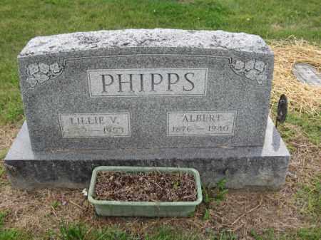 PHIPPS, LILLIE V. - Union County, Ohio | LILLIE V. PHIPPS - Ohio Gravestone Photos