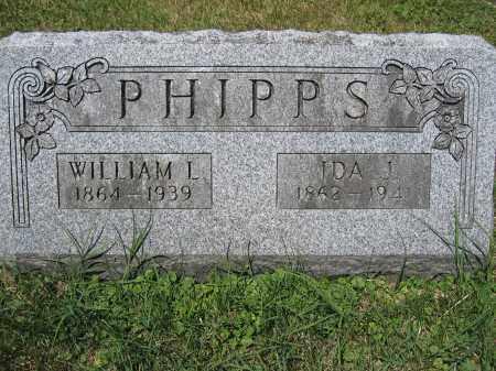 PHIPPS, WILLIAM L. - Union County, Ohio | WILLIAM L. PHIPPS - Ohio Gravestone Photos