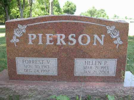 PIERSON, FORREST V. - Union County, Ohio   FORREST V. PIERSON - Ohio Gravestone Photos