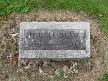 PLOTNER, FLORENCE IRENE - Union County, Ohio | FLORENCE IRENE PLOTNER - Ohio Gravestone Photos