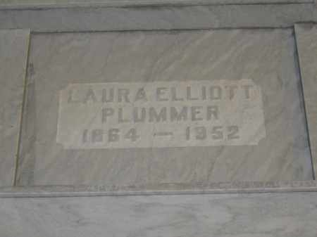PLUMMER, LAURA ELLIOTT - Union County, Ohio | LAURA ELLIOTT PLUMMER - Ohio Gravestone Photos