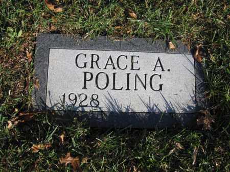 POLING, GRACE A. - Union County, Ohio | GRACE A. POLING - Ohio Gravestone Photos