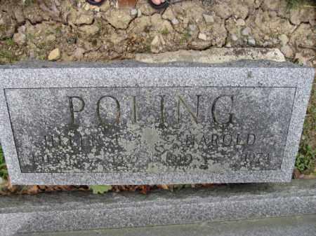 POLING, HAROLD - Union County, Ohio | HAROLD POLING - Ohio Gravestone Photos