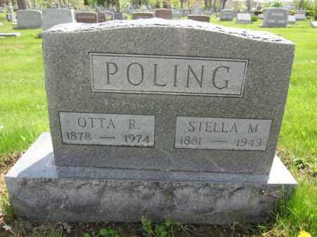 POLING, OTTA R. - Union County, Ohio | OTTA R. POLING - Ohio Gravestone Photos