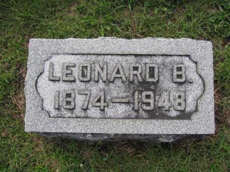 POOLER, LEONARD B. - Union County, Ohio | LEONARD B. POOLER - Ohio Gravestone Photos