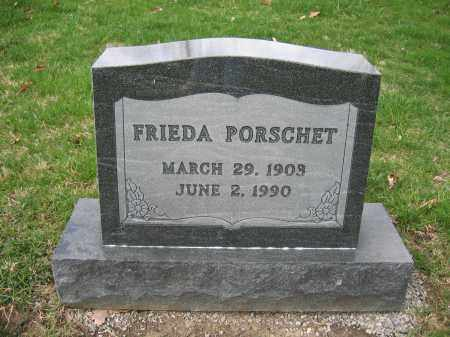 PORSCHET, FRIEDA - Union County, Ohio | FRIEDA PORSCHET - Ohio Gravestone Photos