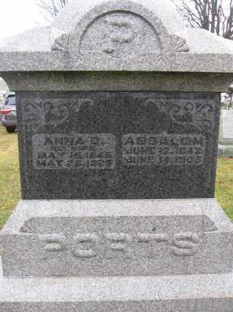 PORTS, ANNA D. HICKOK - Union County, Ohio | ANNA D. HICKOK PORTS - Ohio Gravestone Photos