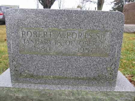 PORTS, ROBERT A. - Union County, Ohio | ROBERT A. PORTS - Ohio Gravestone Photos
