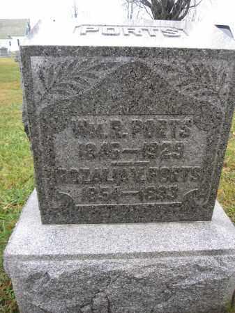 PORTS, WILLIAM R. - Union County, Ohio   WILLIAM R. PORTS - Ohio Gravestone Photos