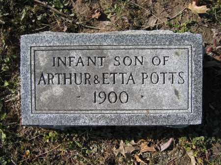 POTTS, INFANT SON - Union County, Ohio | INFANT SON POTTS - Ohio Gravestone Photos
