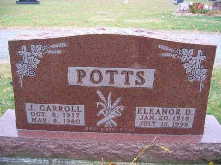 POTTS, ELEANOR D. - Union County, Ohio | ELEANOR D. POTTS - Ohio Gravestone Photos