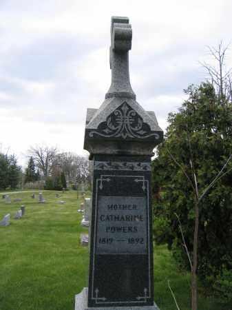 POWERS, CATHARINE - Union County, Ohio   CATHARINE POWERS - Ohio Gravestone Photos