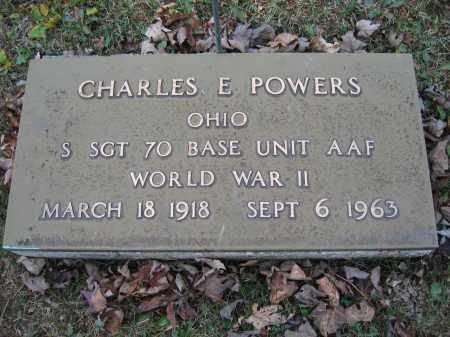 POWERS, CHARLES E. - Union County, Ohio | CHARLES E. POWERS - Ohio Gravestone Photos