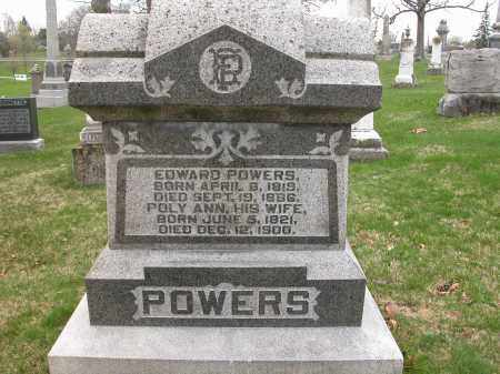 POWERS, EDWARD - Union County, Ohio | EDWARD POWERS - Ohio Gravestone Photos
