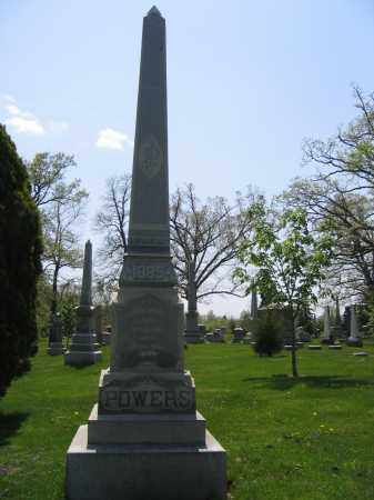 POWERS, ELLEN - Union County, Ohio | ELLEN POWERS - Ohio Gravestone Photos