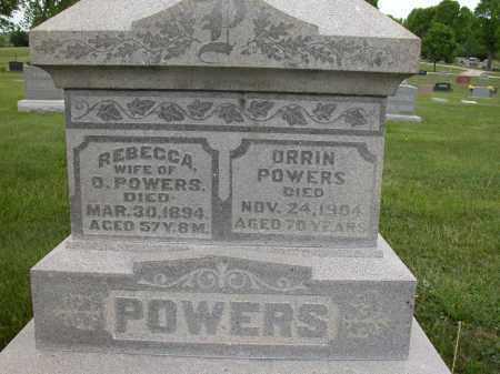 POWERS, ORRIN - Union County, Ohio | ORRIN POWERS - Ohio Gravestone Photos