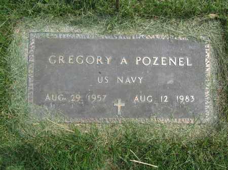 POZENEL, GREGORY A. - Union County, Ohio   GREGORY A. POZENEL - Ohio Gravestone Photos