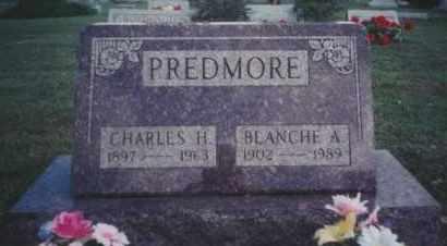 PREDMORE, BLANCHE ADELL - Union County, Ohio | BLANCHE ADELL PREDMORE - Ohio Gravestone Photos