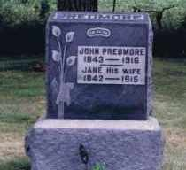 PREDMORE, JOHN DUER - Union County, Ohio | JOHN DUER PREDMORE - Ohio Gravestone Photos