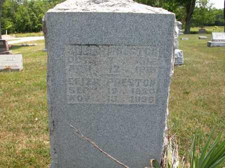 PRESTON, ELIZA - Union County, Ohio   ELIZA PRESTON - Ohio Gravestone Photos
