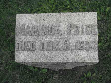 PRICE, MARINDA - Union County, Ohio   MARINDA PRICE - Ohio Gravestone Photos