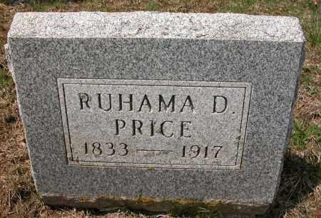 PRICE, RUTHAMA D. - Union County, Ohio   RUTHAMA D. PRICE - Ohio Gravestone Photos