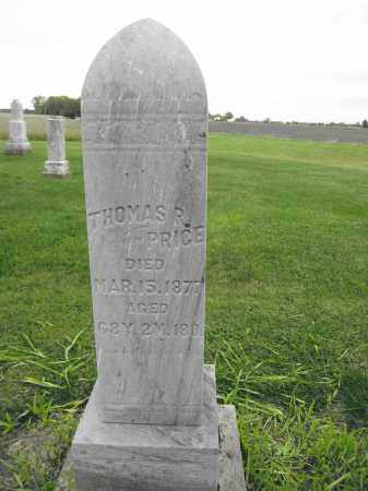 PRICE, THOMAS R - Union County, Ohio   THOMAS R PRICE - Ohio Gravestone Photos